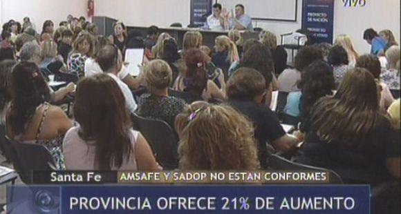 No habría inicio de clases: los maestros rosarinos estudian paros de 48 y 72 horas