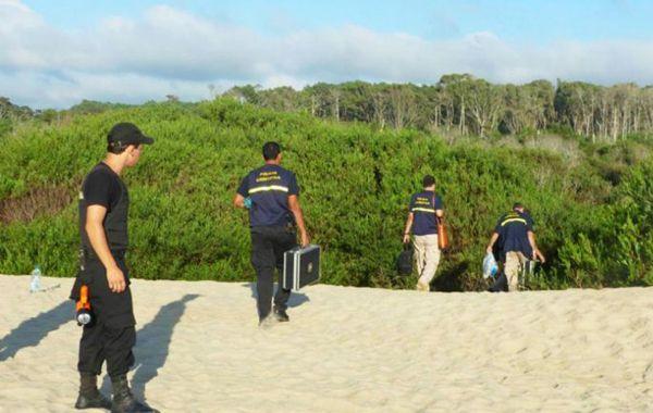 La zona de la playa uruguaya de Barra de Valizas donde se realizó la investigacón.
