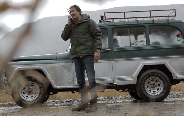 Un rodaje en lo  más alto. La miniserie encabezada por Ivo Cutzarida se rodó durante tres meses en la zona montañosa del sur argentino.