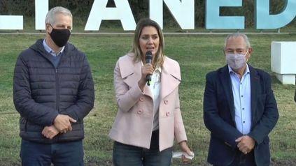 Scarpin, Losada y Barletta, protagonistas de una buena cosecha de votos en las primarias.