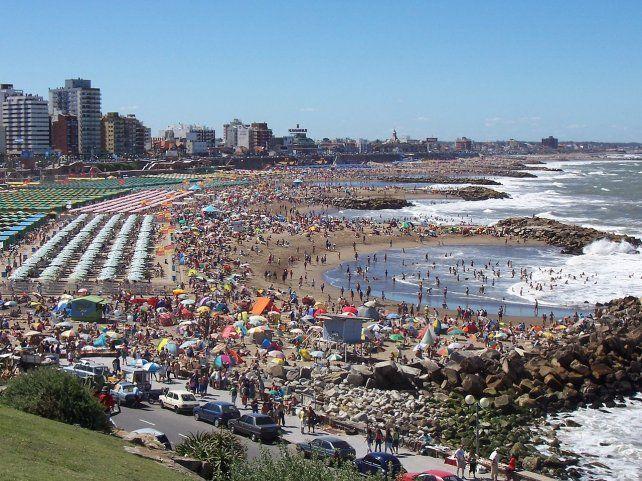 OTROS AÑOS. Verano en Mar del Plata