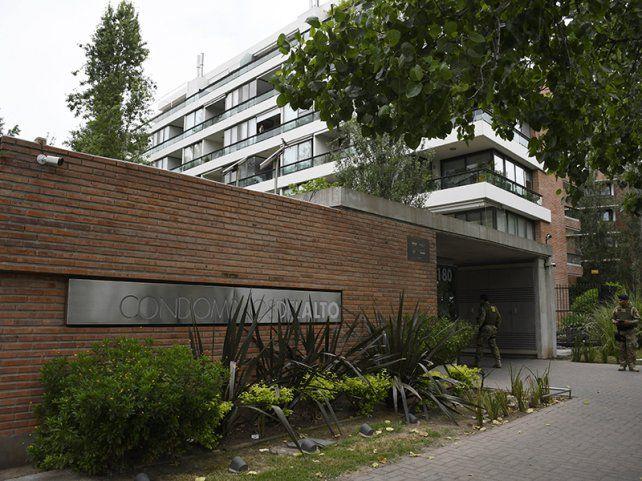 Javier Makhat fue apresado en un condominio en noviembre de 2019. El departamento pertenecía a Esteban Alvarado.