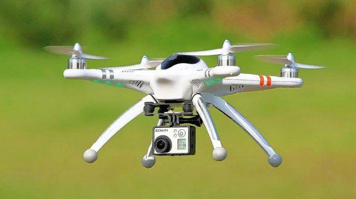 En Villa California denuncian que un dron observa las casas