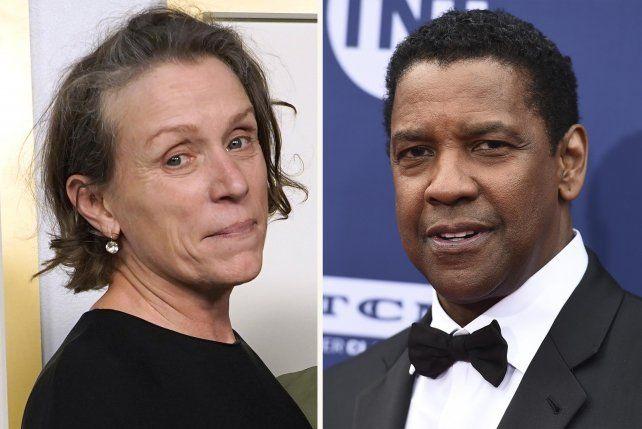 Los ganadores del Oscar Frances McDormand y Denzel Washington protagonizan el filme. En esta versión