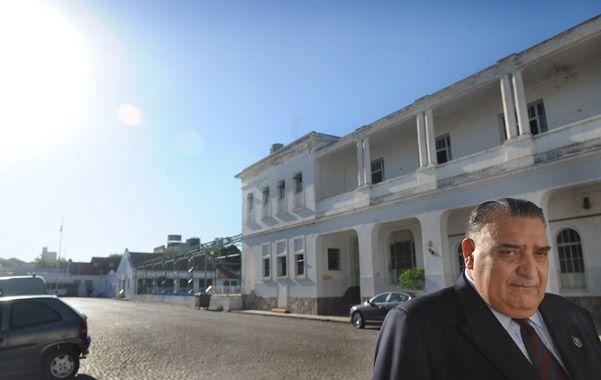 Formación. Morán fue profesor en la vieja escuela de cadetes y ahora es director del Isep en Rosario y Santa Fe.