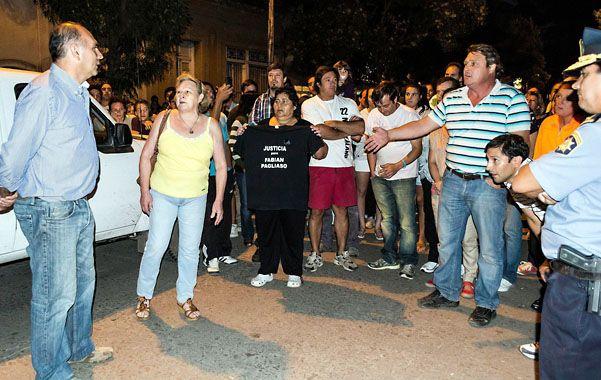 Unos 300 rufinenses demandaron a las autoridades que se resuelvan los episodios delictivos.