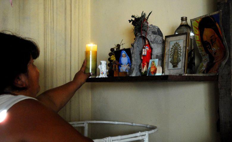 Los altares populares ganan los barrios