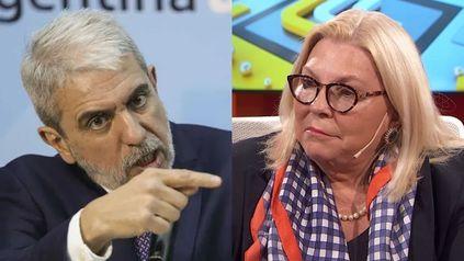 Aníbal Fernández le contestó a Elisa Carrió y la acusó de integrar la Mesa Judicial