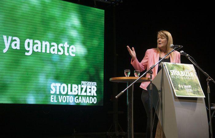 Margarita Stolbizer pidió a la ciudadanía que vote positivamente