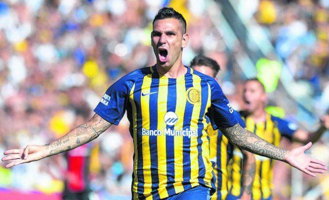 Goleador. El Chaqueño Herrera le convirtió a Newells en los dos últimos clásicos.