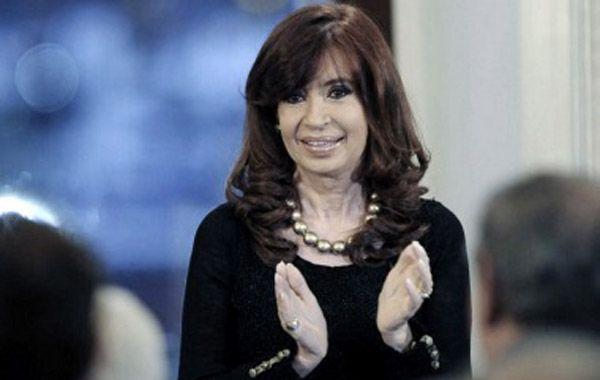 Cristina Fernández de Kirchner reaparece en un acto tras las elecciones del domingo