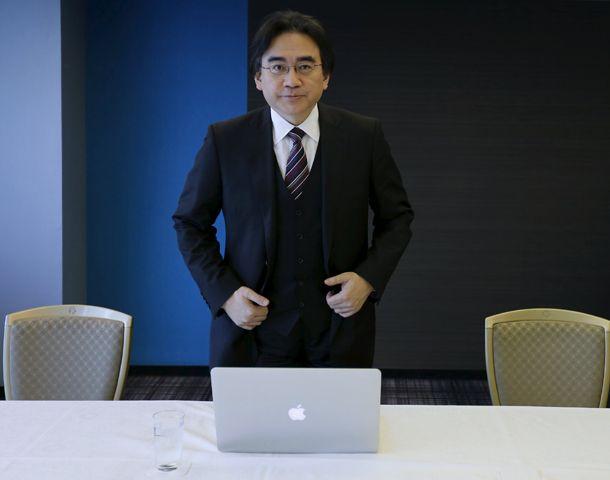 Satoru Iwata en una foto del año pasado.