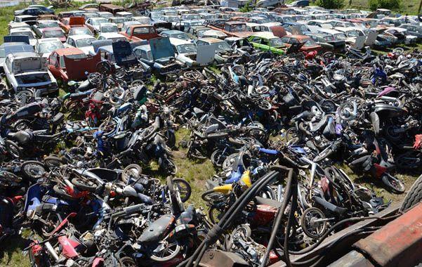 Fueron más de 800 vehículos