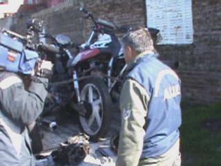Secuestran motos y repuestos en zona sudoeste: hay un detenido