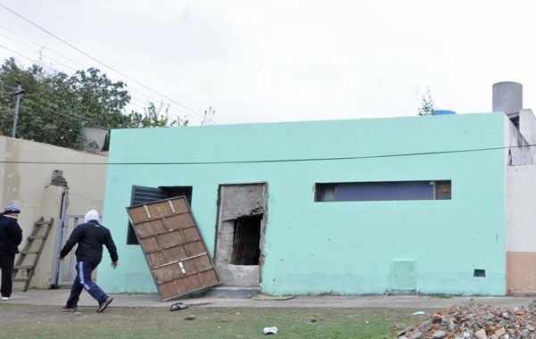 Fortaleza. El búnker de Valparaíso al 3300 fue violentado ayer a la mañana.