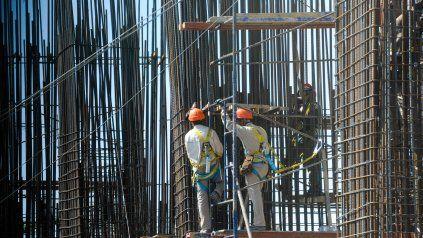 Salto. La construcción creció 84,2% interanual en el segundo trimestre.