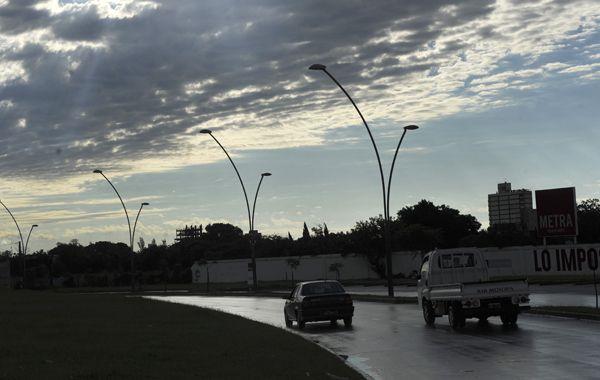 La zona está bajo alerta por posible tormentas fuertes. (Foto de archivo)
