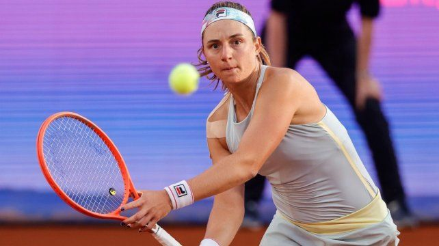 Nadia Podoroska resolvió en tres sets su partido debut en Serbia