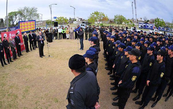 Presentaron en Rosario la flamante Policía de Acción Táctica