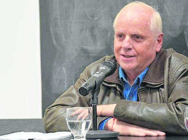 Programa. Fernández Pastor disertó en Rosario en el marco de una serie de charlas organizadas por la Fundación Igualar.