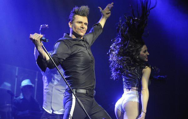 La metamorfosis. Bossi convertido en Ricky Martin