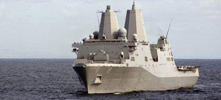 Colisionan un submarino nuclear y un anfibio en el estrecho de Ormuz