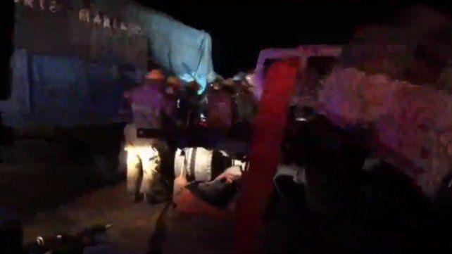 Dos camioneros murieron en un choque en cadena entre Totoras y Serodino