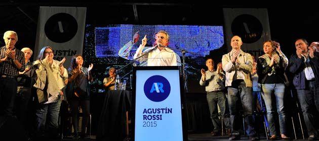 Rossi lanzó en Guaymallén su candidatura presidencial en un acto multitudinario.