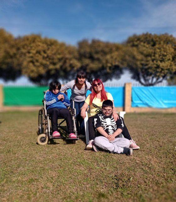 Alicia Kosinski tiene tres hijos con discapacidades, dos de ellos adoptados, y lucha por los derechos de estas minorías.