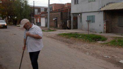 La cuadra donde Ximena, la nena de 2 años, resultó herida de bala en el abdómen.