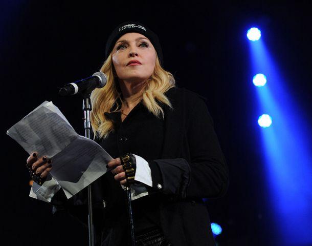 Madonna acusó a Maduro de desconocer los derechos humanos
