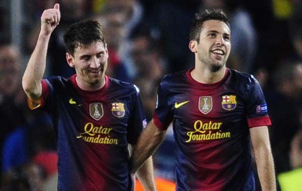 A Barcelona todavía le quedaba una bala en la recámara y la tenía un defensor. Fue Alba quien en el adicional se vistió de delantero y empujó un centro de Adriano.