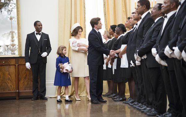 Icono. Los personajes de Jacky y John Kennedy. El presidente
