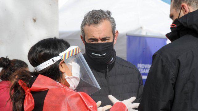 El intendente Pablo Javkin reiteró su preocupación por la alta ocupación de camas críticas que se dio en el pico de pandemia.