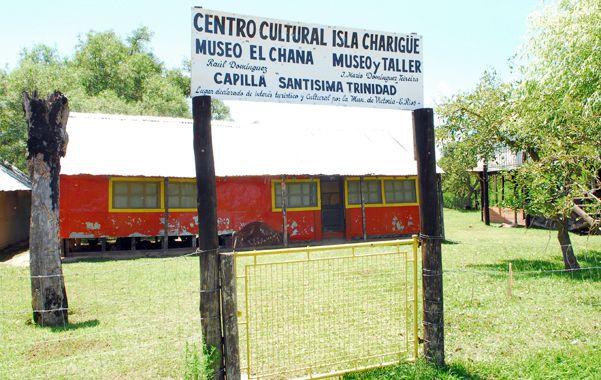 Centro cultural. En el sector hay un predio de actividades públicas. (Foto: S. Suárez Meccia)