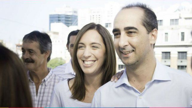 La gobernadora de Buenos Aires y su expareja.