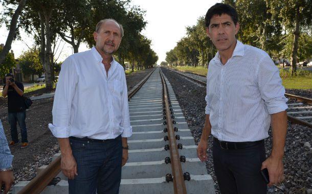 Sobre rieles. Perotti y Ramos dieron detalles de las próximas licitaciones.