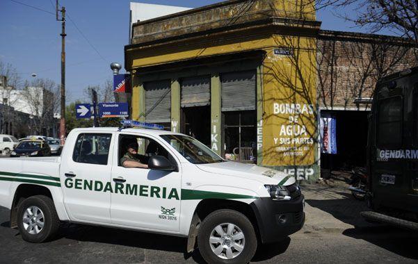 Gendarmería Nacional allanó exitosamente ayer 23 desarmaderos y negocios de venta de autopartes.