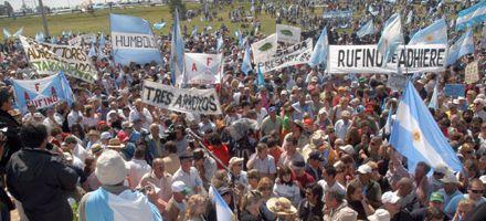 Dirigente ruralista es muy optimista de hallar una salida con el gobierno