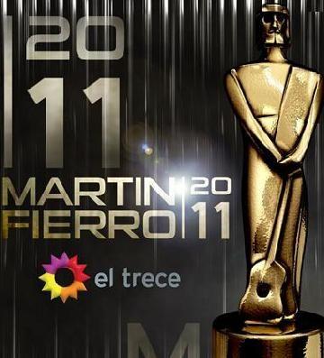 El Trece transmite Los Premios Martín Fierro