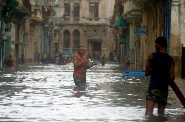 La Habana y el norte de Cuba, muy dañados