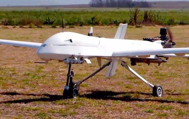 Vehículo aéreo no tripulado. Las aeronaves pueden llevar hasta 250 kilos de carga útil y tienen un alcance de 1.200 kilómetros.