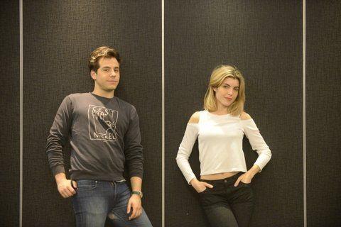 protagonistas. Fernando Dente y Josefina Scaglione encabezan la obra vista por más de 100 mil espectadores.
