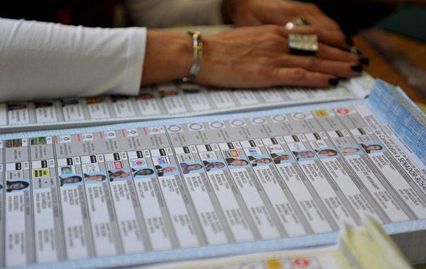 Lista única. Para los comicios provinciales regirá el nuevo sistema electoral.