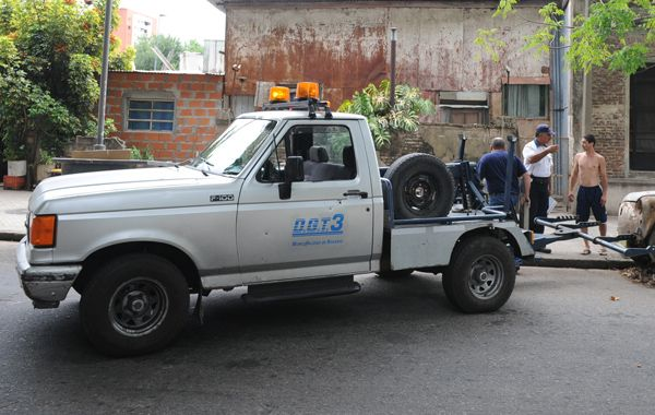 El violento incidente ocurrió en Marcos Paz y Provincias Unidas. (Foto de archivo)