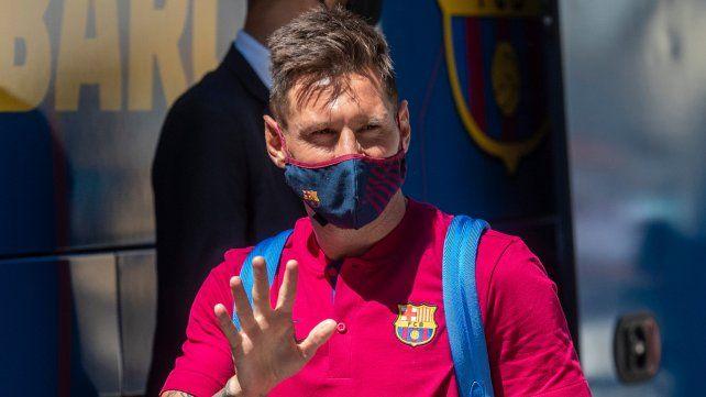 Todavía el club no me ha comunicado nada, indicó Pochettino sobre la posible llegada de Messi
