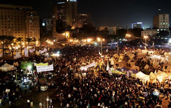 La plaza Tahrir volvió a verse repleta de manifestantes