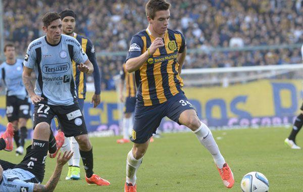 El pibe de 19 años podría debutar como titular mañana ante el equipo del Viaducto. (Foto: Sebastián Suárez Meccia)