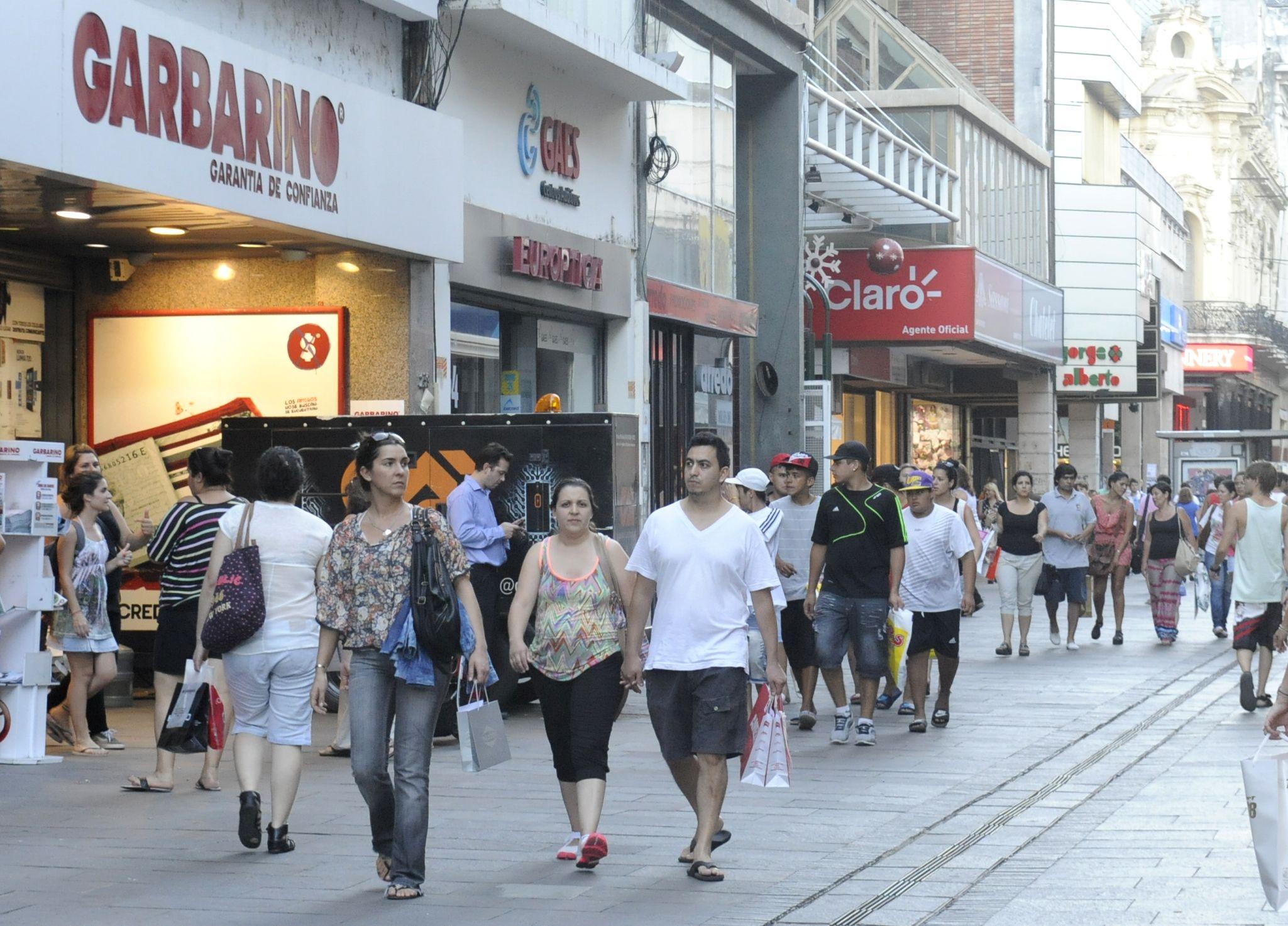 Más ventas. El comercio creció en términos reales en la ciudad.
