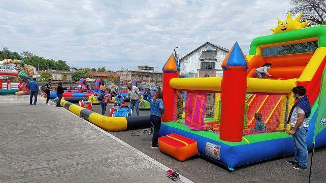 Expo Infantil: chicos y grandes disfrutan el finde largo